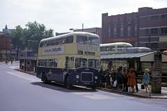 WMPTE 39N,  Walsall, 1973 (Lady Wulfrun) Tags: yda39 39n wmpte mccw mcw guy arab mk4 iv fullfronted fullfronter bus 1973 197os may 33 service route