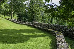 Along the path... (emmemme1964) Tags: path sentiero bosco wood muro wall pietra stone