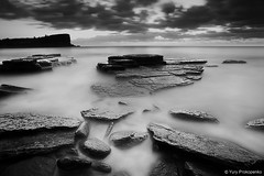 Avalon Beach (renatonovi1) Tags: avalon beach sydney northernbeaches nsw australia seascape landscape longexposure bw blackandwhite ocean water sea sunrise