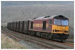 Ribblehead Gypsum (elr37418) Tags: ribblehead drax viaduct 60024 ews gypsum settle carlisle railway