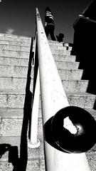 stairs 2 (Fer Gonzalez 2.8) Tags: leica leicadlux4 blackwhite citylife urbanphotography stairs people dof shadows mdq