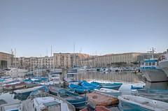 porticciolo della cala..palermo (eliobuscemi) Tags: la cala palermo panorama mare barche sicily