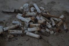 bad habits. (REFVL) Tags: cigarettes smoking dirt rusty old bad habits newbie