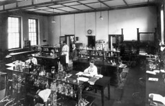 Chemical Laborarory,  Department of Agriculture, Brisbane, 1930 (Queensland State Archives) Tags: queensland qsa science natsciwk 1930s queenslandstatearchives laboratory chemistry chemical