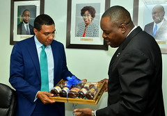 PM Holness Tours HEART/NTA Head Office