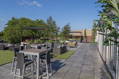 Bradley Low-Res9 (Chicago Roof Deck and Garden) Tags: pergola concrete porcelain roof deck chicagoroofdeck design landscape city landscapes roofdecks chicago outdoor spaces outdoorliving furniture synlawn ravenswood rooftop garden