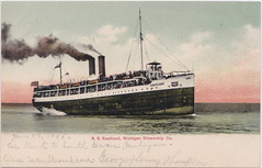 """SHIP SS EASTLAND c.1905 on Lake Michigan BEFORE THE 1915 STEAMSHIP DISASTER Total of 844 of 2600 Passengers & Crew KILLED Rolled over capsized dock on Chicago River SHIPWRECK (UpNorth Memories - Donald (Don) Harrison) Tags: """" """"railroad ferry"""" """"car excursion vintage antique postcard rppc """"don harrison"""" """"upnorth memories"""" upnorth memories upnorthmemories michigan history heritage travel tourism """"michigan roadside restaurants cafes motels hotels """"tourist stops"""" """"travel trailer parks"""" campgrounds cottages cabins """"roadside entertainment"""" """"natural wonders"""" attractions usa puremichigan"""