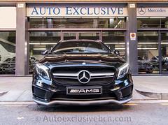 Mercedes-Benz Clase GLA 45 AMG  - 381 c.v  - Mod.2016 - Negro Cosmos - Piel Negra
