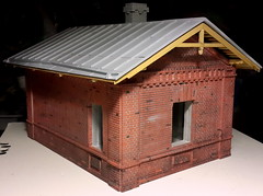 20160821_232654_ (kudrdima) Tags: 125       oldtime  guardhouse railway railroad russia model scaleg spuriim gaugeg gauge1