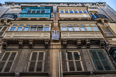 Malta - Valletta (framir2014) Tags: purple maltas valletta balcony doors mediterranian fortelmo maltese