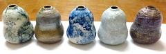 New Ceramic Glazes Almost Done (anczelowitz) Tags: vase vessel texture pattern color glaze design decor tableware tabletop anczelowitz craft handmade craiganczelowitz vases pottery stoneware elle elledecor interiordesign