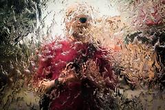 Water Selfie (*Hairbear) Tags: me waterfall sunglasses reflection selfie harbourside bristol mirrored metal