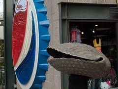 ivars and pepsi (keown29) Tags: mariners safeco field kids fan appreciation day mascot mascots ivars clam pepsi