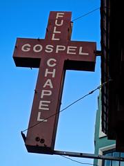 Full Gospel Chapel, San Francisco, CA (Robby Virus) Tags: sanfrancisco california sf cross full gospel chapel urban church religion christ jesus christian christianity