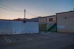 flat sunset (Alec C Miller) Tags: street city urban los angeles sunset color digital cityscape landscape fine art photography