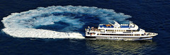 180 grados (Miradortigre) Tags: sea mar boat barco giro rotacion blue deep costa amalfi coast t tirreno