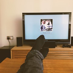 Why yes, it was a lazy day, why do you ask? (283/366) (garrettc) Tags: oxford 365 366 me feet tv appletv home