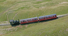 Brienz Rothorn Bahn, Switzerland - Locomotive No. 14 approaches the Summit on the 13th September 2016 (trained_4_life) Tags: brb brienzrothornbahn switzerland rackrailway steamengine
