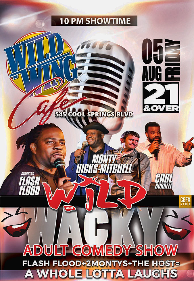 Wild Wing Cafe Comedy Show