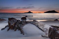 Nelson Bay (FPL_2015) Tags: portstephens nelsonbay nsw australia landscape sunrise rocks beach water seascape canon6d canon1635f4lis gnd09
