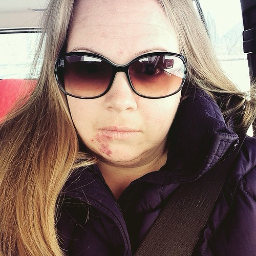 Car selfie! by tarah d'elia