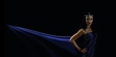 Blue_Sails_01 (Beetwo77) Tags: portrait photoshop 35mm model shoot fuji veil wind puppet f14 warp flowing clone transform xe2