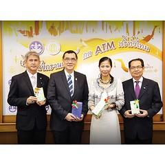 """[26/3/2015] กระทรวงการท่องเที่ยวและกีฬา ขอมอบของขวัญปีใหม่ไทยให้ประชาชน กับแคมเปญ """"เที่ยวสงกรานต์ กด ATM ฟรี ทั่วไทย"""" ระหว่างวันที่ 13 - 19 เมษายน 2558   #KobkarnOfficial #กระทรวงการท่องเที่ยวและกีฬา #สมาคมธนาคารไทย #ธนาคาร #atm #เอทีเอ็ม #ฟรี #free #ไม่ม"""