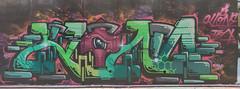 Klone_TFA (tombomb20) Tags: street streetart west eye art underpass graffiti paint m1 tag yorkshire leeds tunnel spray kobe wakefield lettering hack graff klone olas wy 2061 tfa 2015 horbury zenor tombomb20 rorno klonism