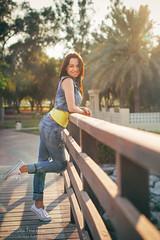 Daria 012 (Svetlana Kniazeva) Tags: park sunset portrait beach canon model dubai style photosession lifestylephotography 50mmf12l dubaiphotographer svetlanakniazeva photosessionindubai