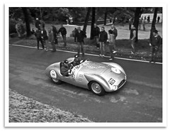 T33 (bogray) Tags: italy classic car vintage historic restored brescia autorace autorally 1000miles presereved bresciatoromeandback lacorsapiubelladelmondo 2013millemiglia 1954cooperjaguar