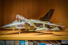 1/32 scale Panavia Tornado GR.1 ZA462/AJ-M of No. 617 Sqn, RAF Lossiemouth, 1992 (hjakse) Tags: aires resin ajm tornado modelling raf 132 polystyrene scalemodel modellbau dambusters panavia royalairforce revell modellbygge 617sqn za462
