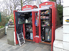 Telephone Box Coffee Shop. (ManOfYorkshire) Tags: road new red coffee shop retail booth sussex milk brighton tea box telephone use sweets converted boxes unusual