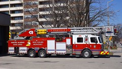 Oakville, ON Fire Ladder 232 (car show buff1) Tags: rescue canada fire cobra chief platform engine ambulance special operations ladder heavy incident command commander oakville hazmat dept on pumper battalion rosenbauer