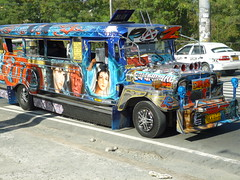 P1090882 (S.J.L Photography) Tags: jeepneys popular public transportation philippines us military jeeps worldwarii flamboyant decoration individual artistic designs crowdedseating symbol culture manila panasoncic lumix dmcfs18 camera travel pollution painting photo dmctz40 casio exilim exz1 graphics pinoy jeep colourscheme luzon rizal cainta street streetphotography road marcoshighway imeldaavenue felixavenue life worldslargestcollection antipolo taytay marakina pasigortigasavenue pasig ortigasavenue