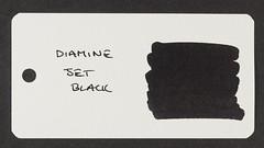 Diamine Jet Black - Word Card