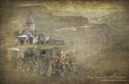 Tatev Monastery in the morning