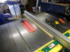 Hank Kennedy table saw project - diy guide rails 24