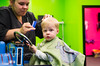 First Haircut | Lifestyle Session |  www.belovedsparrow.com | Atlanta Family Photographer (Beloved Sparrow) Tags: haircut firsthaircut thomasthetrain toddlerboy d7000 zanycuts