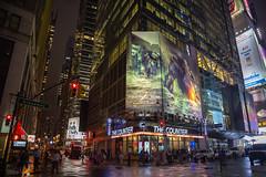 New York by Night (Oleg.A) Tags: broadway night street usa newyork megalopolis