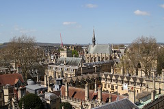 Tower view (c10lmw) Tags: tower church canon spring university view spires oxford marythevirgin 1000d