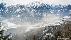 Mayrhofen - Austrian Alps (Sacha Alleyne) Tags: snow mountains landscape cablecar gondola snowscape mayrhofen skislope pekenbahn