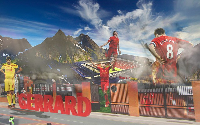 STEVEN GERRARD Wallpaper 2015