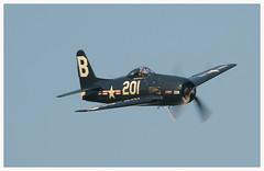 Grumman F8F-2P Bearcat (Ciaranchef's photography.) Tags: airshow shuttleworth warbirds airdisplay vintageaircraft shuttleworthcollection oldwarden vintageaeroplanes nikond7000 nikon18300mmf3556gedvr preservedaeroplanes