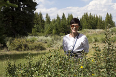 Jae S by the shrubs (nicoangleys) Tags: sotowedding wedding tetons family
