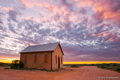 Outback Church (renatonovi1) Tags: silverton brokenhill nsw australia outback sunset landscape sky church