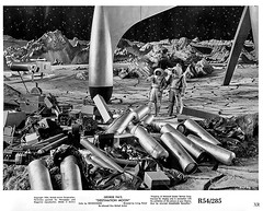 1954 ... lunar littering! (x-ray delta one) Tags: jamesvaughanphotography populuxe retro americana nostalgia atomic vintage scifi tomorrowland space outerspace nasa illustration aerospace astronaut worldoftomorrow spaceexploration thefuture spacerace cosmonaut 1950s 1960s 1940s spacestation rocketship warpdrive aliens spaceship sciencefiction sf