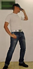 Gorrita (AVENTURA615) Tags: hombre man sexyman jeans gorra gorrita bulto gullo honda autoretrato pene