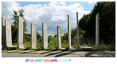 In a row (Magreen2) Tags: wall row scrapyard mauer relic schrottplatz berbleibsel