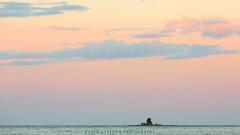 Northern evening light (Peter Nystroem) Tags: sea seascape archipelago tinyisland horizon clouds weather sweden kalix norrbotten scandinavia summer