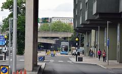 Fairfax Street, Coventry (June 2016) (paulburr73) Tags: concrete studenthalls coventry fairfaxstreet street bus urban city citycentre enviro400 adl alexanderdennis 4993 service13 e40d midlands westmidlands nxwm nxc routebranding priorystreet prioryhall ringroad